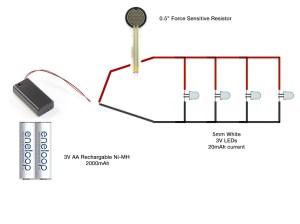 diy  LED Shoes  circuit diagram ok?  Electrical