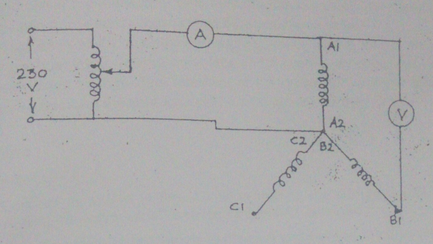 Winding Resistance Of A 3 Phase Motor