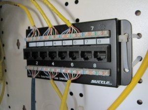 wiring  How to use work patch panel in new house  Home Improvement Stack Exchange