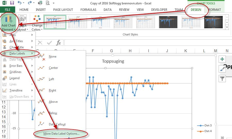 Excel Vba Vba Change Data Labels On A Stacked Column Chart