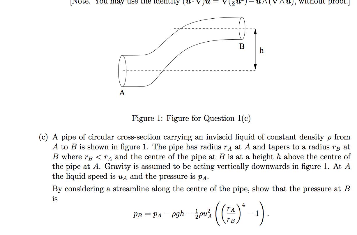 Fluid Dynamics Bernoulli S Equation