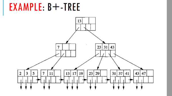 index - B+ Tree structure with buckets (Begginer question ...