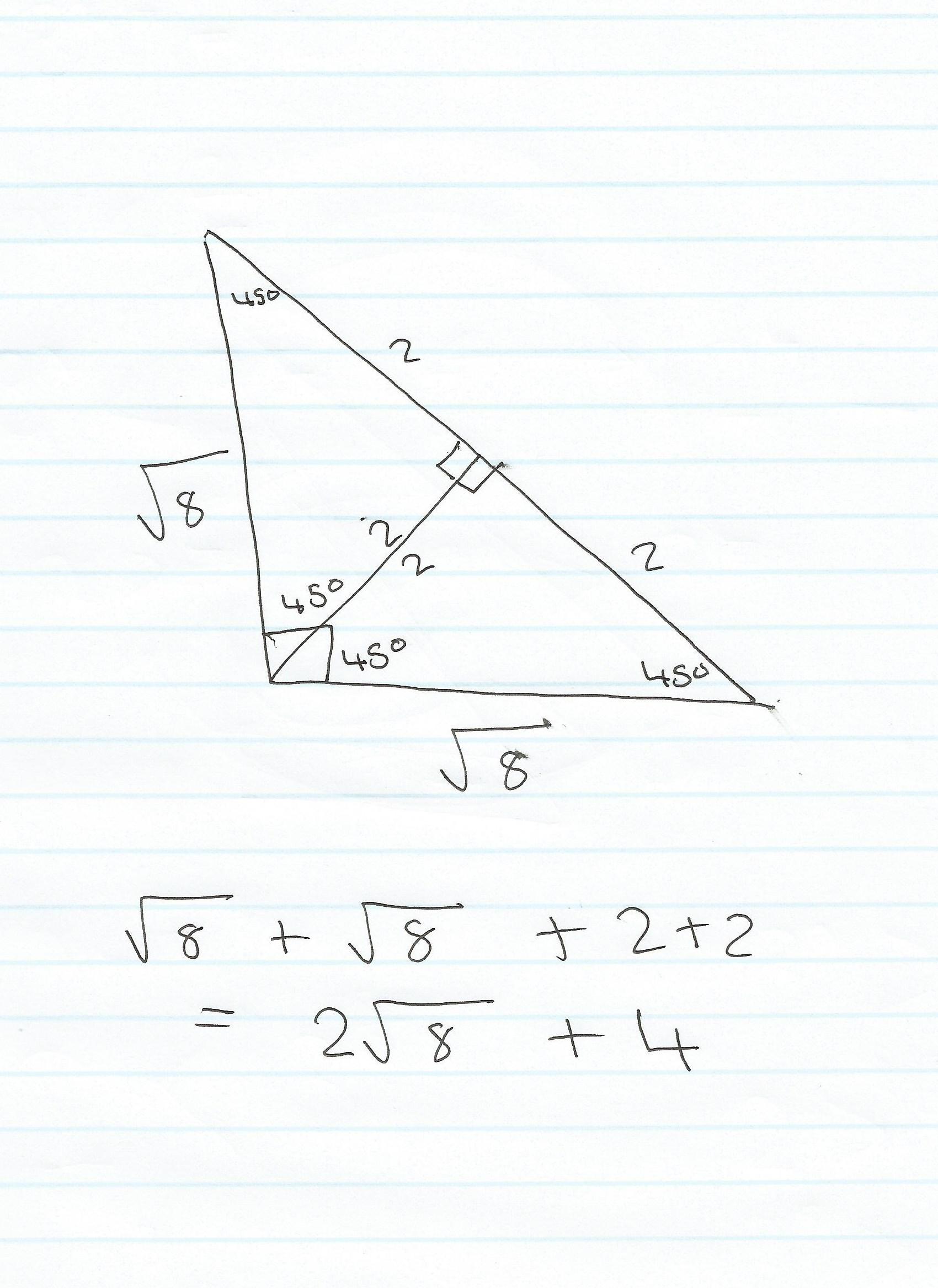 Find Perimeter Right Triangle User Manual