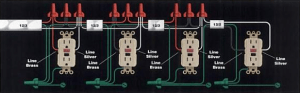 Kitchen Counter  Convert Standard Split Receptacle To Two GFCI Receptacles?  Electrical  DIY