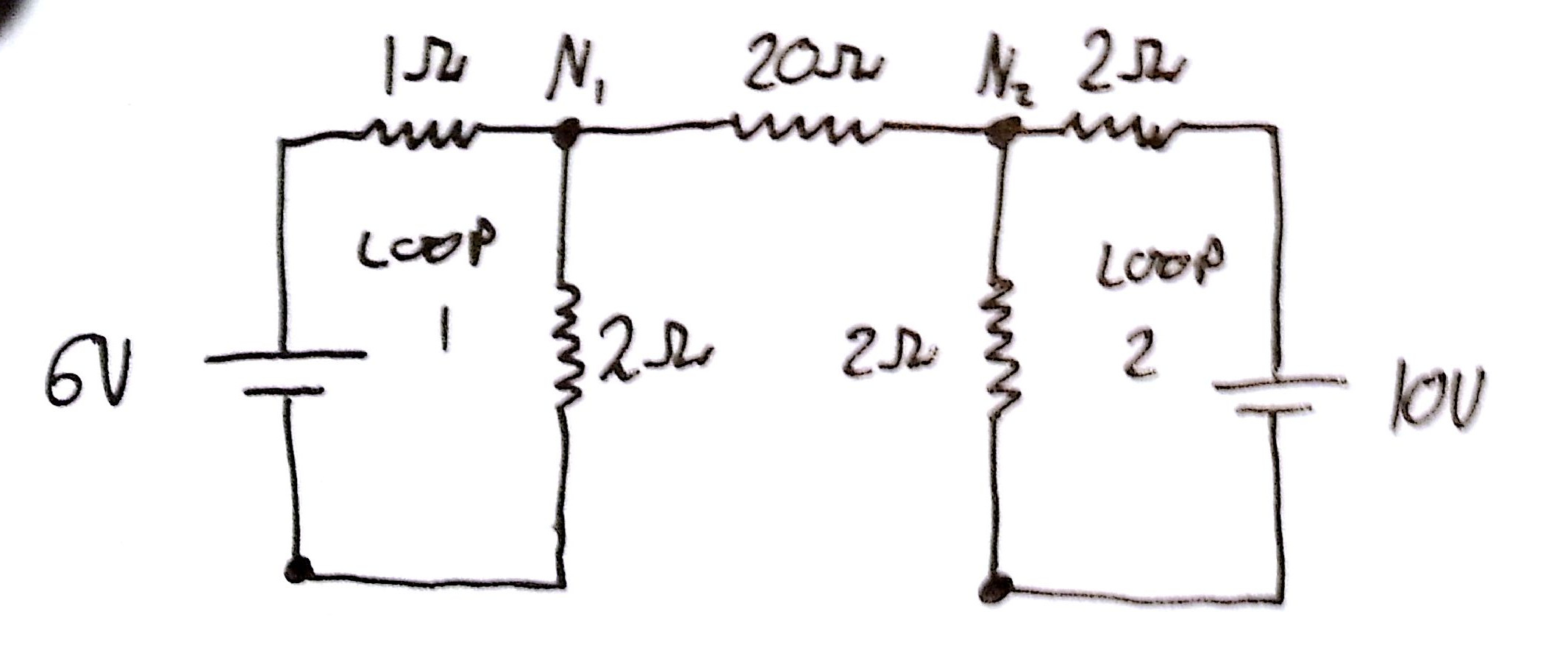 Application Of Kirchoff S Laws To Circuit With Multiple
