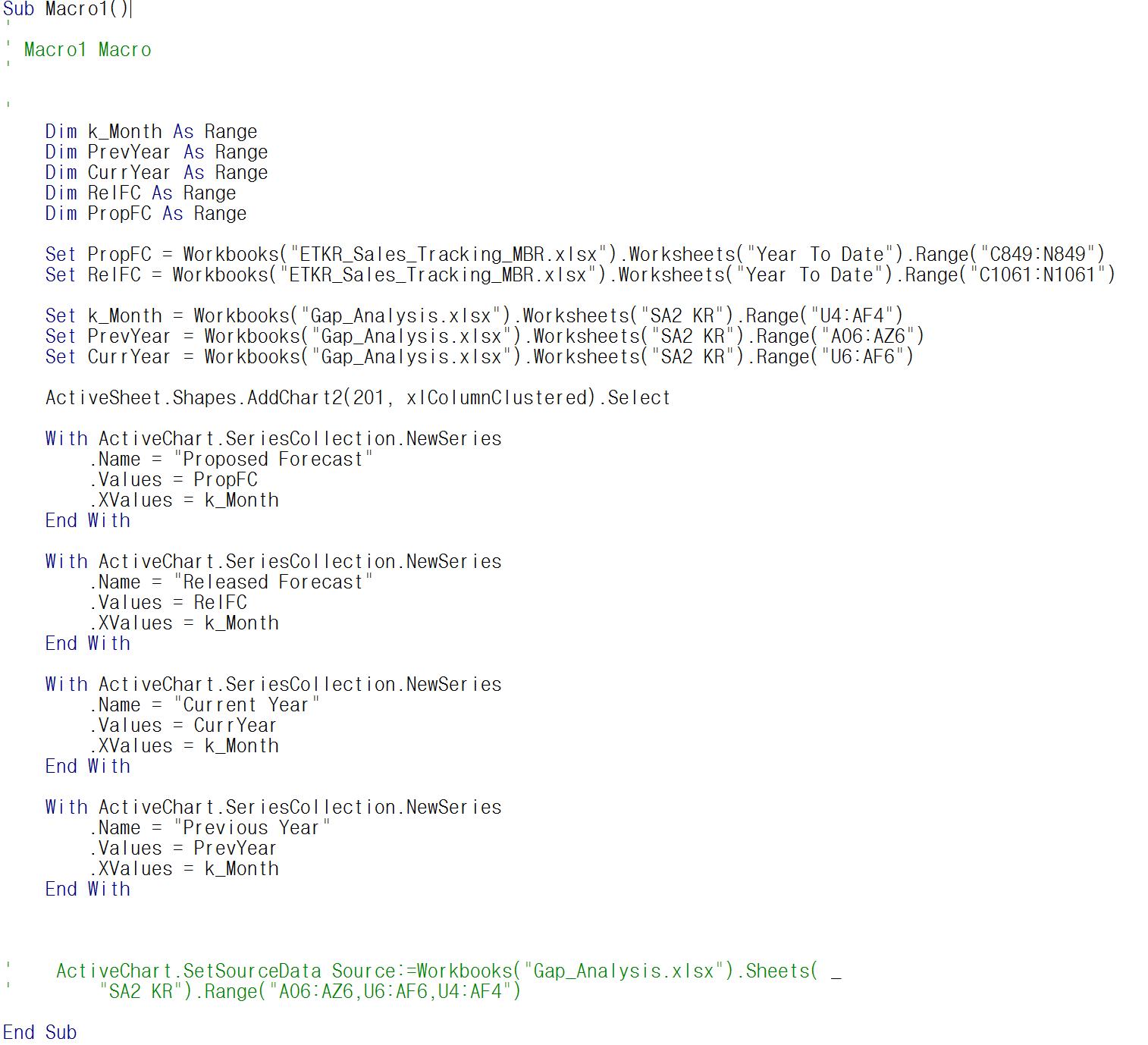 Selecting Multiple Worksheets In Excel Vba
