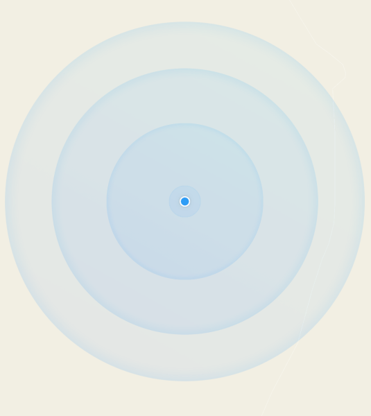 ios   animated user location circle swift 3   Google map   Stack     image