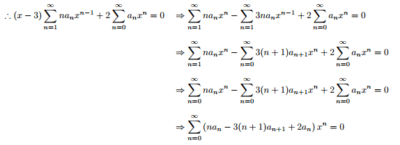 Calculus Power Series Expansion With Coefficient