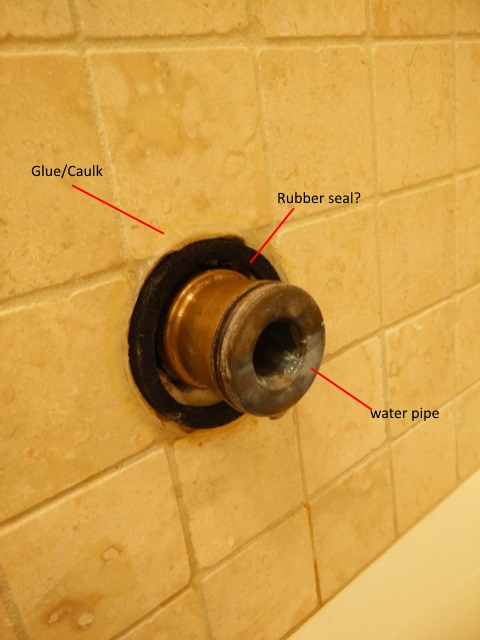 Plumbing Bathtubshowerhead Leak Short Water Pipe