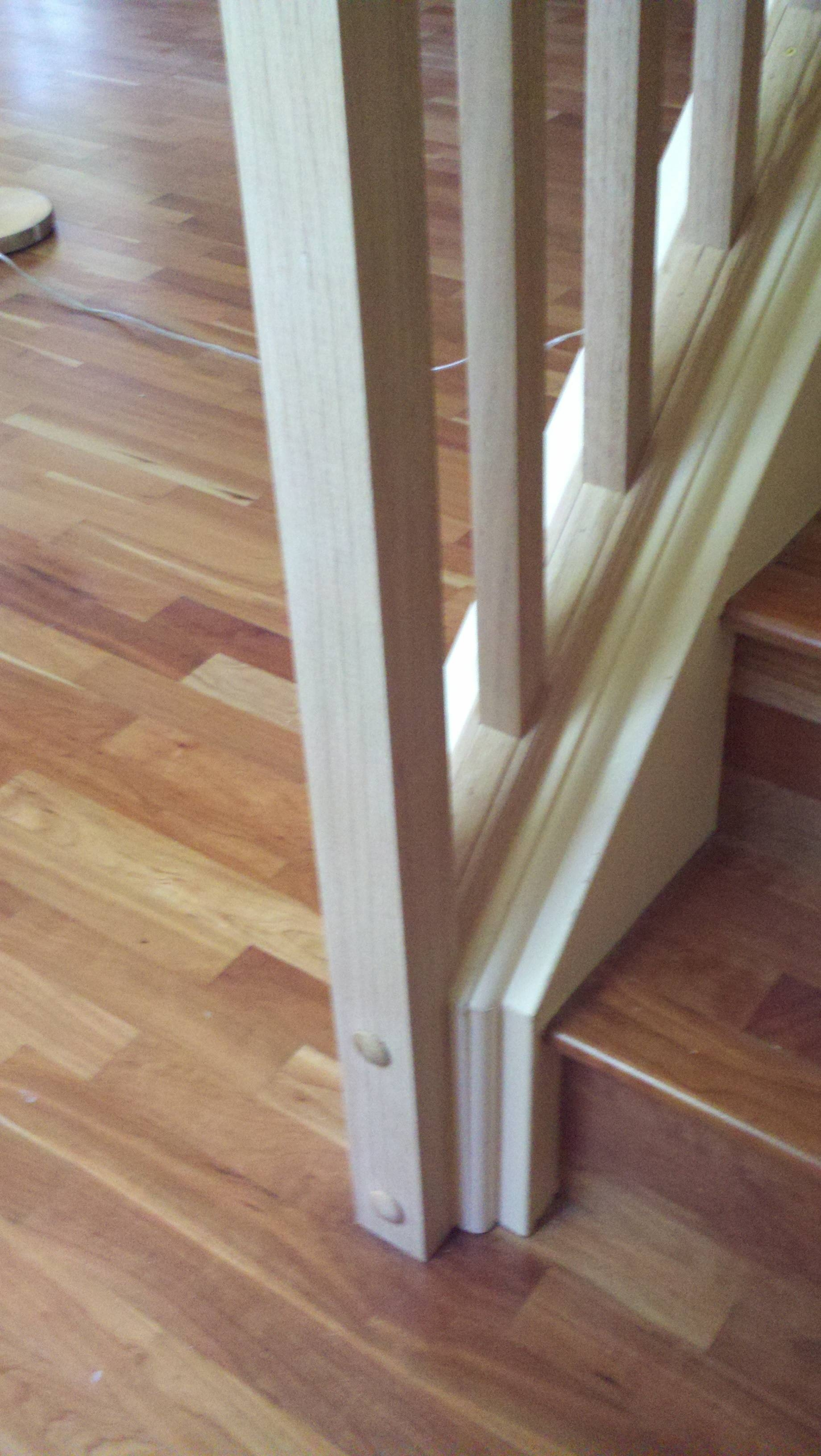 How Can I Set Up A Removable Stair Railing Home Improvement | Indoor Railings Home Depot | Wrought Iron | Barn Post Custom | Balusters | Wood Stair | Unique