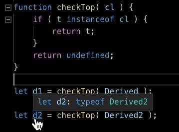 """javascript - Specify T when you have """"typeof T"""" in JSDOC ..."""