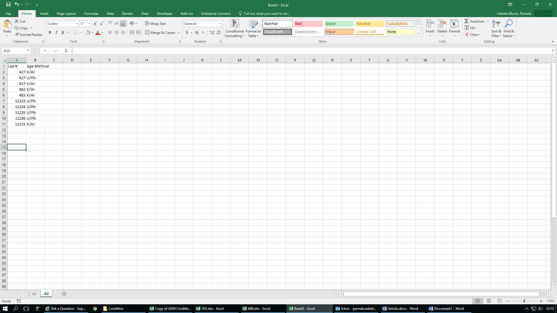 Having Trouble Comparing Multiple Columns And Rows In