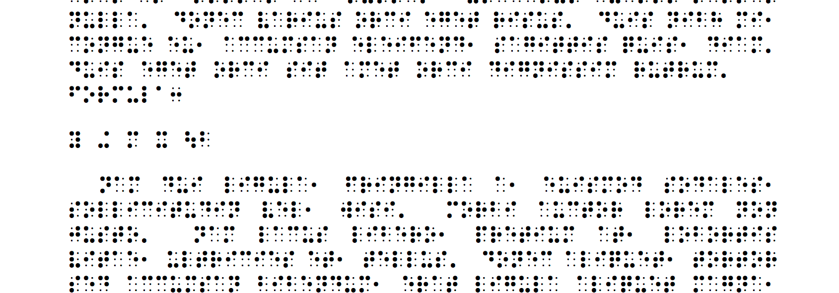 Tex4ht LaTeX To Braille TeX LaTeX Stack Exchange