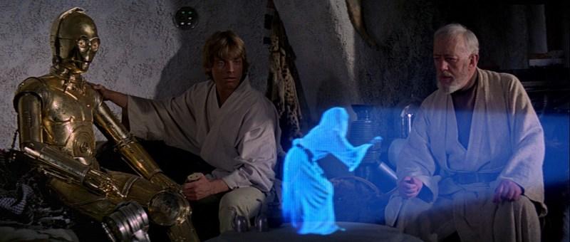 holograms star wars