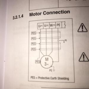 wiring  How to wire 3 phase motor to VFD  Electrical