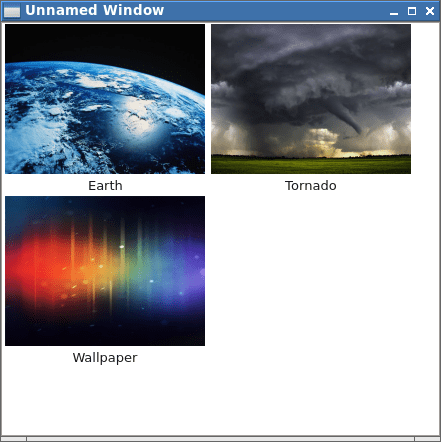 Which Qt widget to use for implementing image thumbnail ...