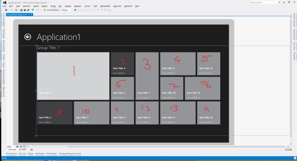 Changing gridview's item wrapping order in XAML - Stack ...