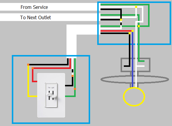 what are the little dots on wiring diagrams  home