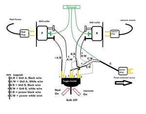 power  wiring a 3 position toggle switch for two devices