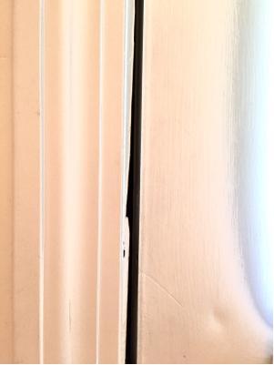 Jamb Uneven Door Jam Causing Gap Home Improvement