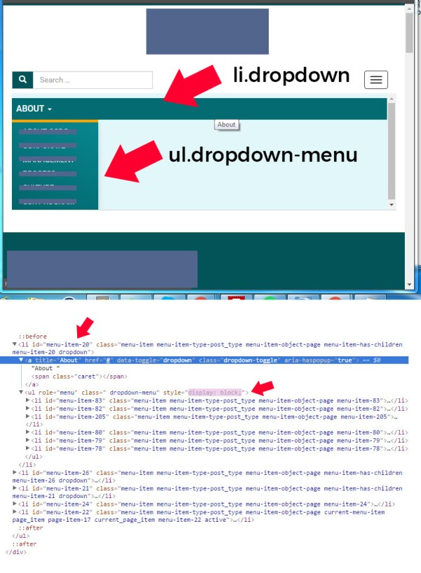 How to get rid the inline style using jquery or javascript ...