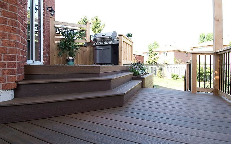 Composite Deck Stair Overhang Vs Flush Home Improvement Stack | Composite Exterior Stair Treads | Blocking | Indoor | Deck Trex | Picture Framing | Patio