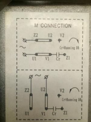 wiring  How to wire up a singlephase electric blower motor  Electrical Engineering Stack Exchange