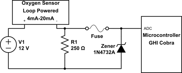 Why Is A Zener Diode In A Crowbar Configuration Dropping