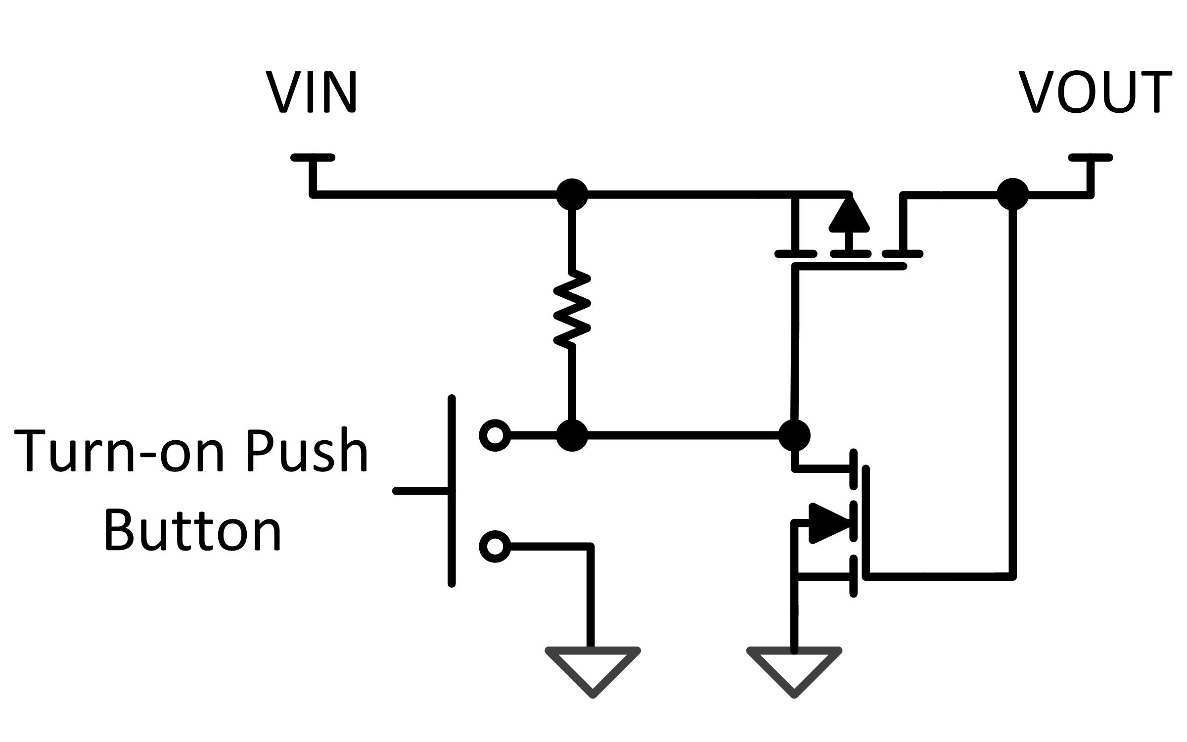 Simple Thermostat Switch Schematic