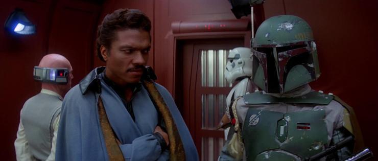 Lando returns to a galaxy far, far away.