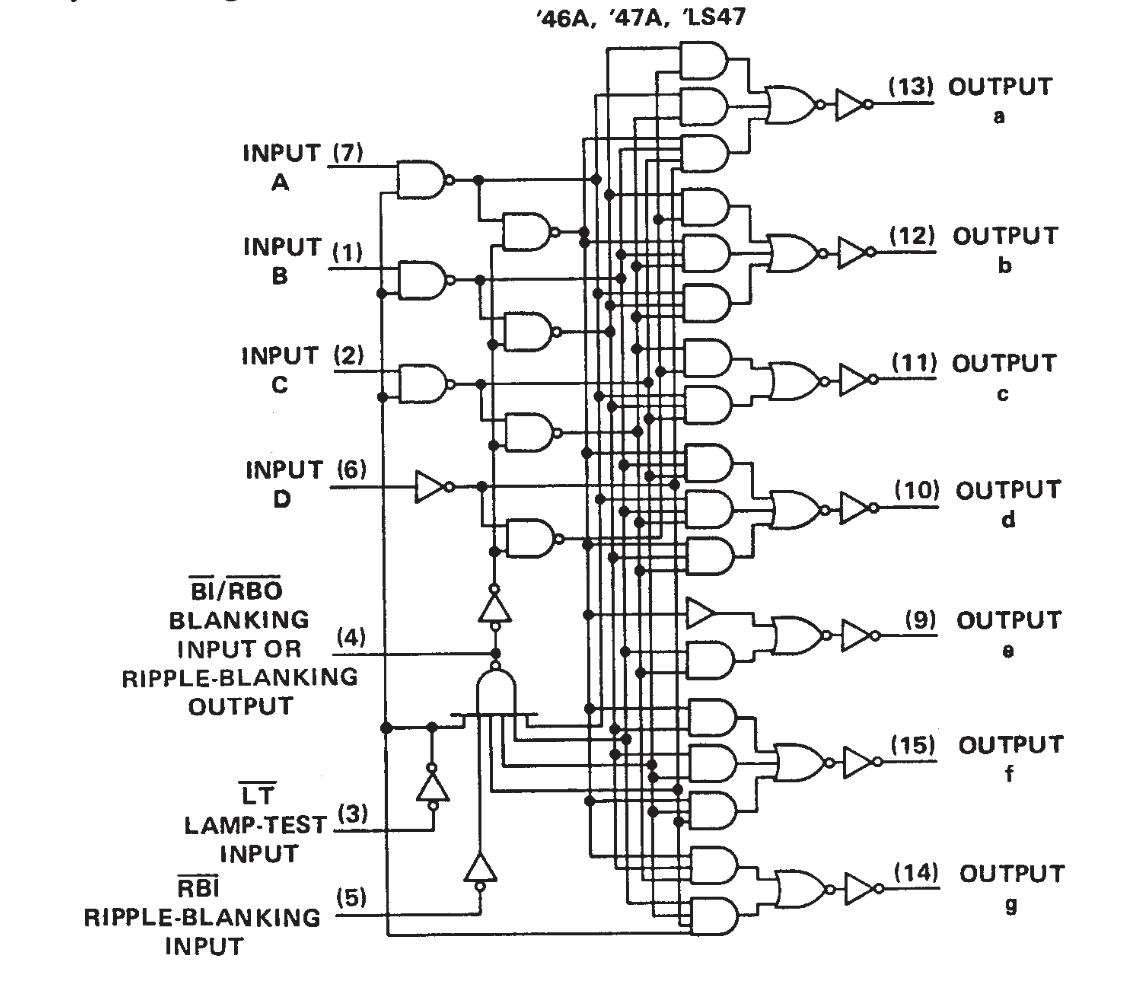 Circut Diagram Nand Gate