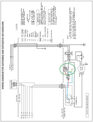 hvac  Trane Air Handler GAT2A0C48S41SAA Create