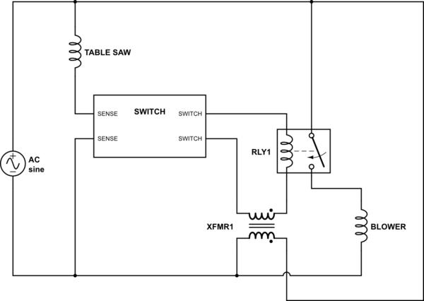 current sensing relay  electrical engineering stack exchange