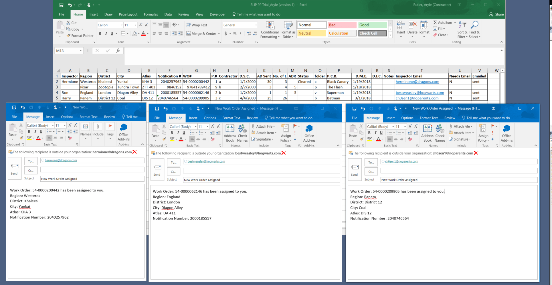 Excel Vba To Email Each Row Based On Criteria