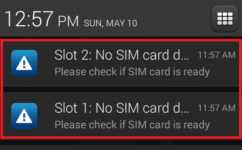 We believe that you should be in control of your mobile, which is why our monthly goodybags are designed to be a flexible mix of data, minutes and texts. How Do I Remove The Slot 1 No Sim Card Detected Notification Android Enthusiasts Stack Exchange