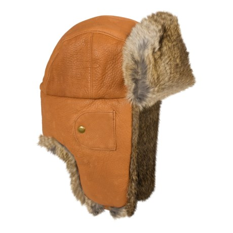 b3f254def2a48 Mad Bomber® Leather Aviator Hat – (Sierra Trading Post)