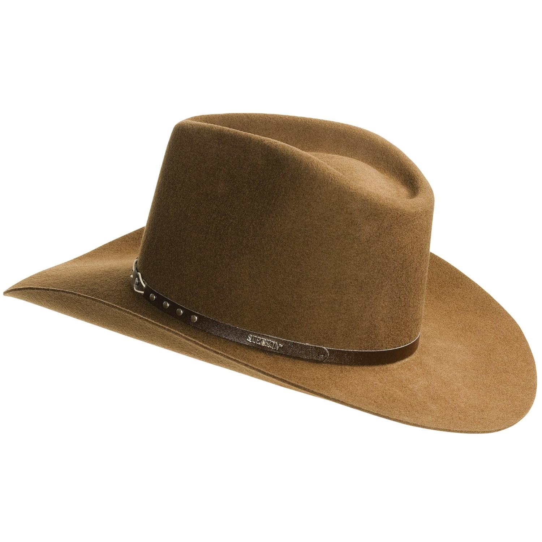 Stetson Pinch Front Cowboy Hats 1eb1c55d256
