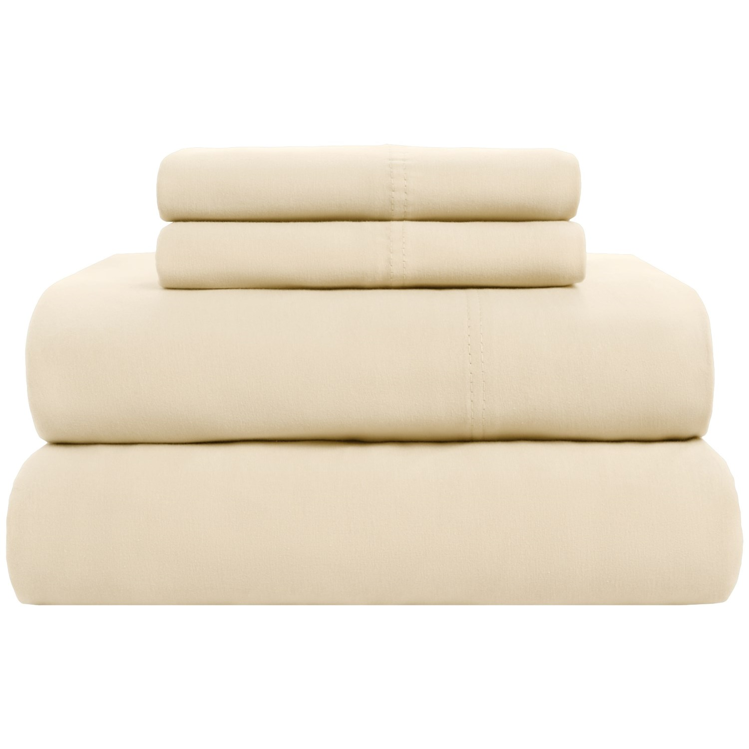 Hanes Jersey Queen Sheets Knit