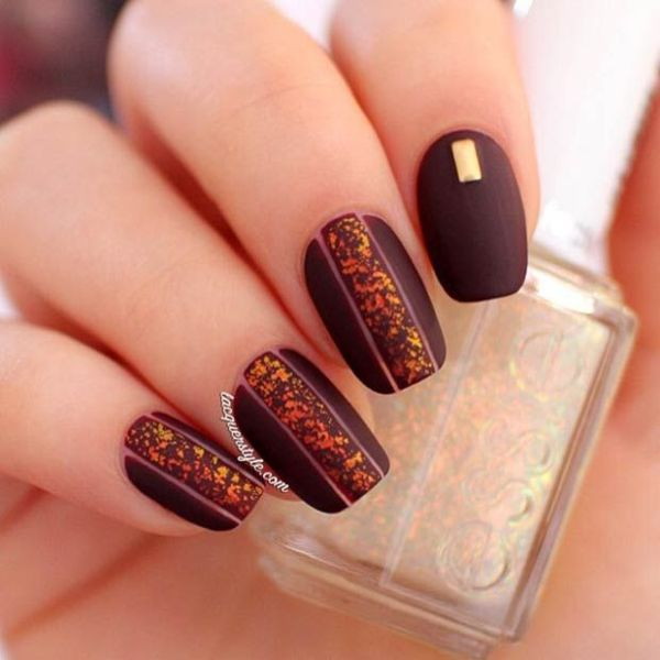 Picture Of Matte And Hot Manicure Ideas 14