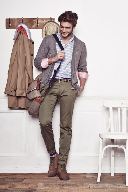 Picture Of Trendy Spring 2016 Casual Outfits For Men 19
