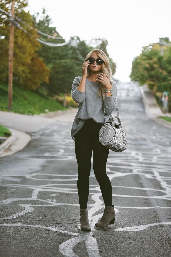 27 Chic Fall Outfits With Ankle Boots Styleoholic