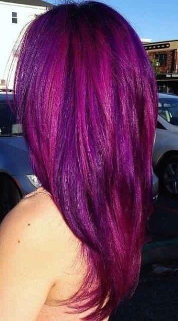 29 Bold Purple Hair Ideas For Daring Girls Styleoholic