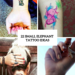22 Amazing Small Elephant Women Tattoo Ideas Styleoholic