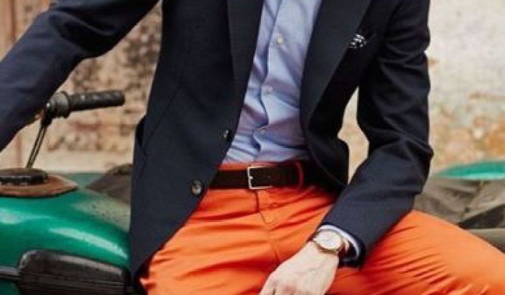 4c6b6a4bd3 21 Men Outfits With Orange Pants Styleoholic