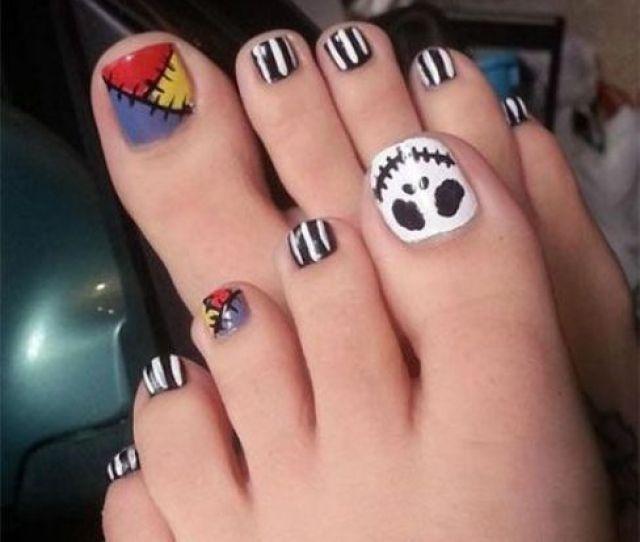 Impressive Halloween Toe Nails Designs Styleoholic