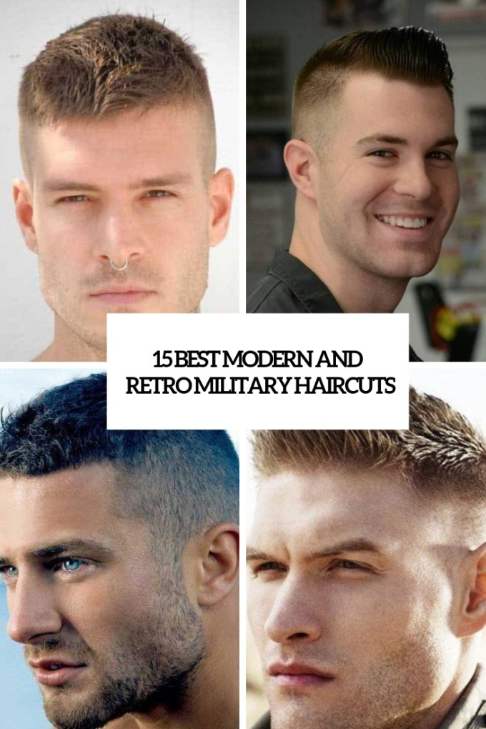 15 best modern and retro military haircuts - styleoholic