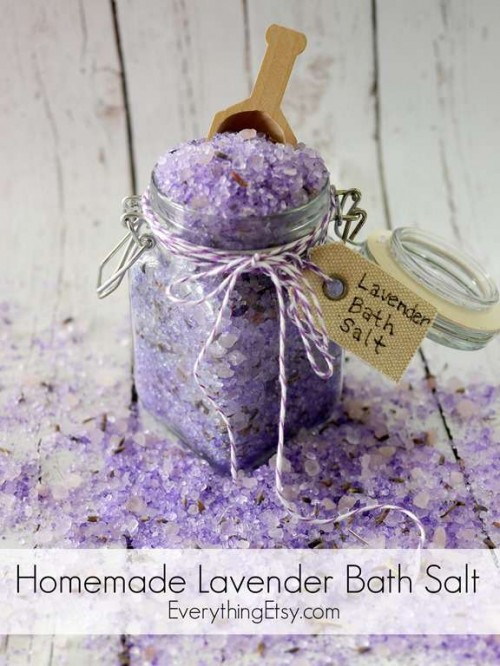 9 DIY Floral Bath Salts Recipes To Wash Away The Cares