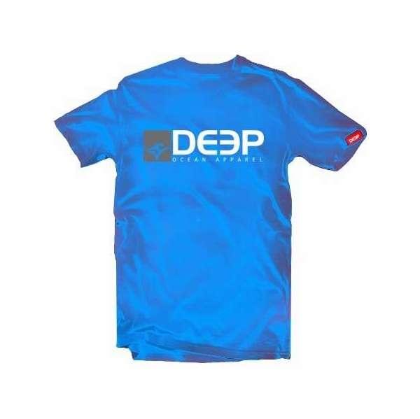 Deep Ocean Logo T-Shirt Royal