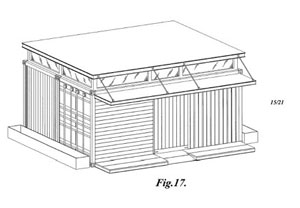 From Amazon's Building Design Patent (D593,208)