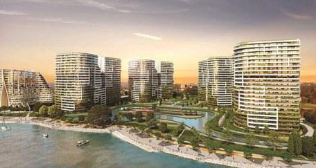 جانب من تصميم مشروع سي بيرل أتاكوي السكني المطل على بحر مرمرة